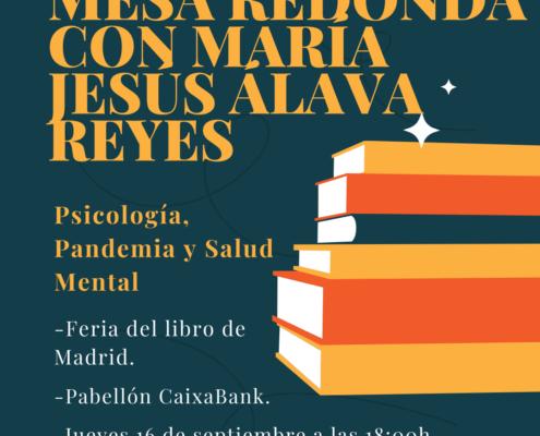 María Jesús Álava en la Feria del Libro de Madrid