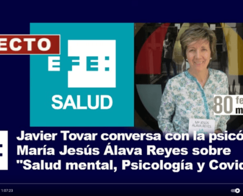 Javier Tobar y María Jesús Álava Reyes
